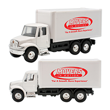 International Box Truck Pull Back