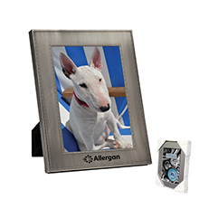 "4"" x 6"" Bead Pewter Picture Frame"