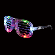 Led Slotted Glasses