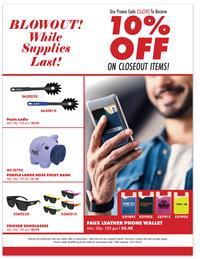 Closeout Blowout! (end user friendly)