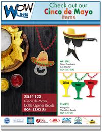 Check Out Our Cinco De Mayo Items!